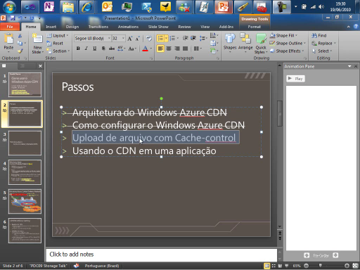 Condé Demo - Como usar o Windows Azure CDN - Parte 2