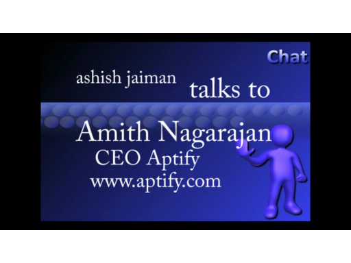 Aptify RAD, chat with Amith Nagarajan, CEO Aptify
