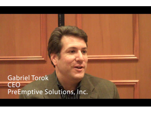Gabriel Torok from PreEmptive talks to Murray Gordon from Microsoft