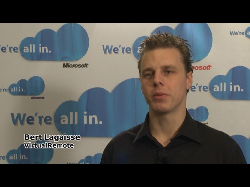 REMIX10 - Interview: Bert Lagaisse on Windows Phone 7 Applications