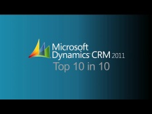 Microsoft Dynamics CRM 2011 Top 10 in 10