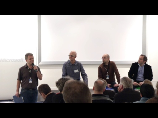 Azure Summit - Panelsamtal om Cloud Computing