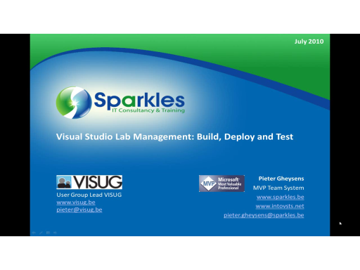 Visual Studio Lab Management: Build, Deploy and Test