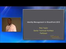 Identity Management and SharePoint 2010