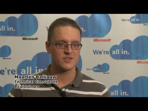REMIX10 - Interview: Maarten Balliauw on Building for the cloud: integrating an application on Windows Azure