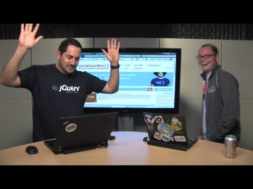 "Web Camps TV #9 - Script Junkie, jQuery, jQuery Mobile and ""the dance"""