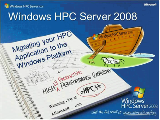 MSDN Webcast: Migrating Your HPC Applications to the Windows Platform (Level 300)
