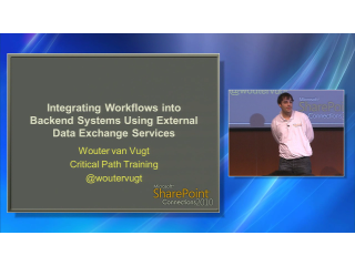 Integrating SharePoint 2010 Workflows into Backend Systems Using External Data Exchange Services