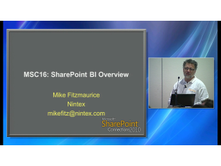 SharePoint 2010 BI Overview
