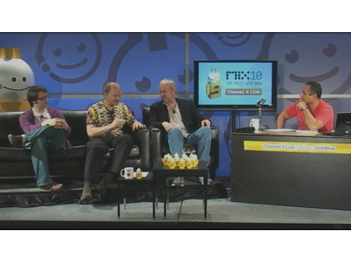 Channel 9 Live at MIX10: Javascript Panel with Douglas Crockford, John Resig & Erik Meijer