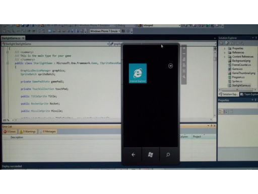 Windows Phone 7 Jump Start (Session 5 of 19): Building XNA Games for the Windows Phone 7 Platform, Part 1