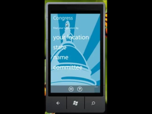 Congress App for Windows Phone 7