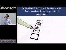 Choosing The Right Tool in the Application Platform: BizTalk Conference Stockholm