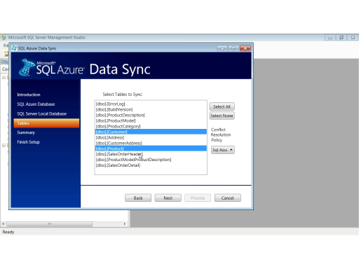 Extending SQL Server Data to the Cloud using SQL Azure Data Sync
