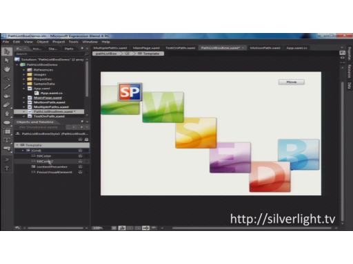 Silverlight TV 25: No More Boxes! Exploring the PathListBox