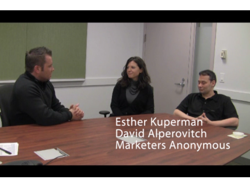 Talking with Marketers Anonymous at the recent Microsoft BizSpark camp for Windows Azure in New York