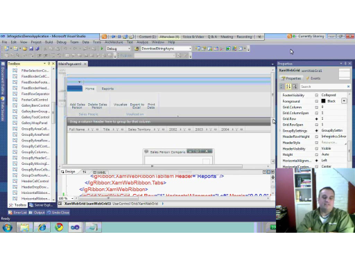 John Wiese chats with Jason Beres from Infragistics about their Silverlight Controls for Visual Studio 2010