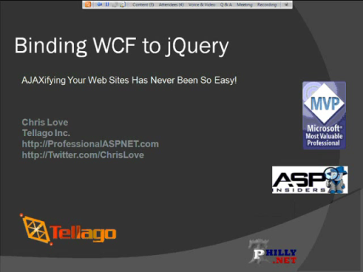 WCF and jQuery: A Perfect Couple