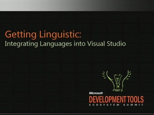 VSX212: Adding a Language Service into Visual Studio 2010