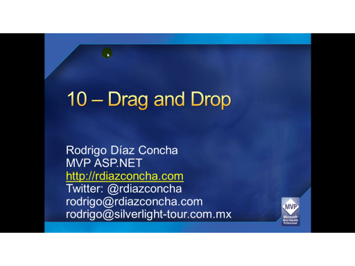 Drag and Drop (11-13)