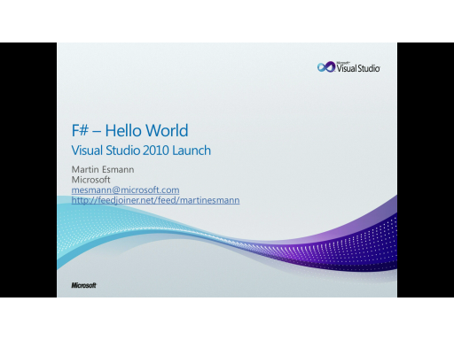 F# - 4 x Hello World