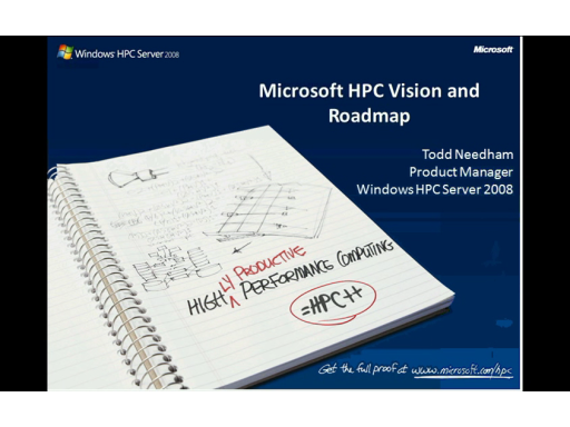 High-performance Analytics with REvolution R and Microsoft HPC Server