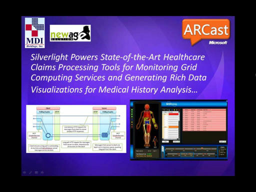 ARCast.TV - Silverlight Powers State-of-the-Art Healthcare Claims Processing Tools