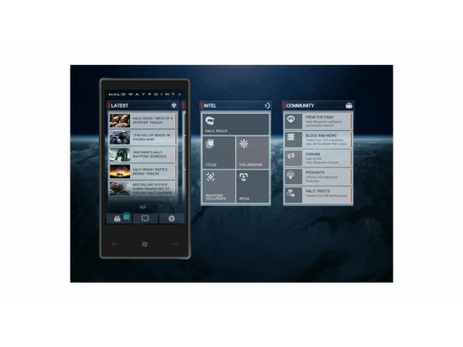 Windows Phone 7 app:  Halo Waypoint just announced
