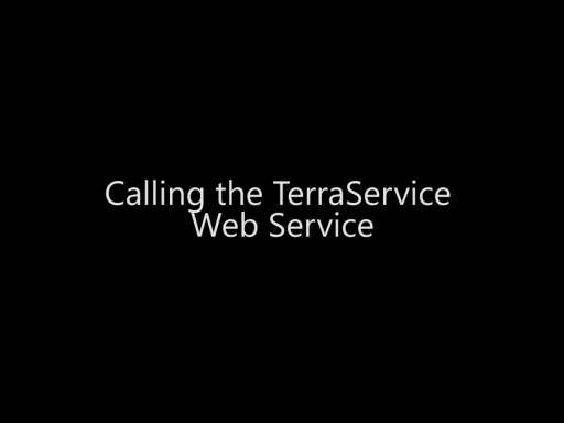 Calling the TerraService Web Service - Day 4 - Part 7