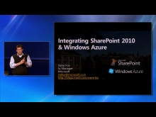 Integrating SharePoint 2010 and Windows Azure