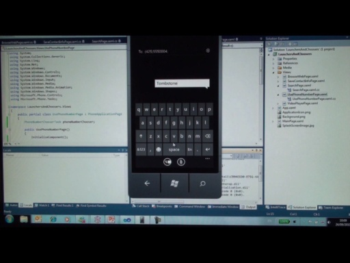 Updated! Windows Phone 7 Jump Start (Session 9 of 19): Launchers and Choosers