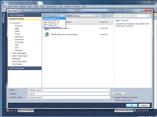 VS 2010 Quick Hit: Multi-Targeting