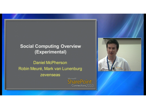 SharePoint 2010 Social Computing Overview