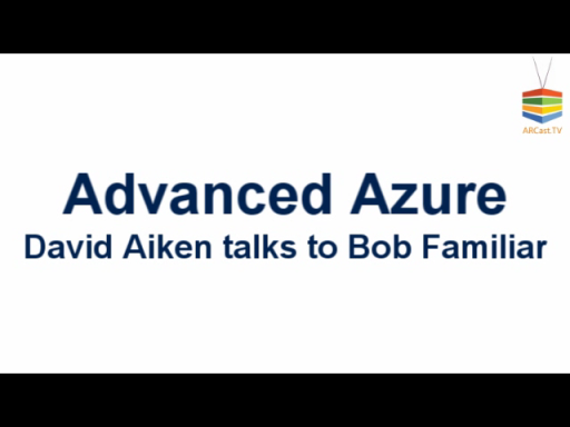 ARCast.TV - David Aiken on Azure Architecture Patterns