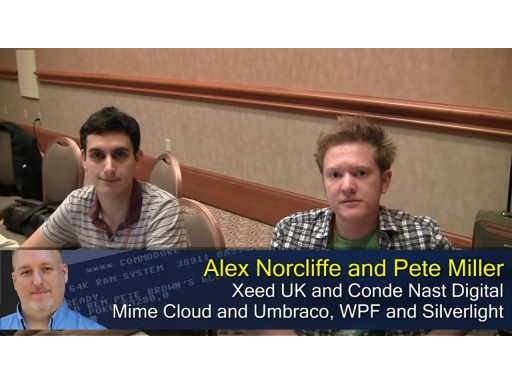 Pete at MIX10: Mime Cloud for Umbraco and More