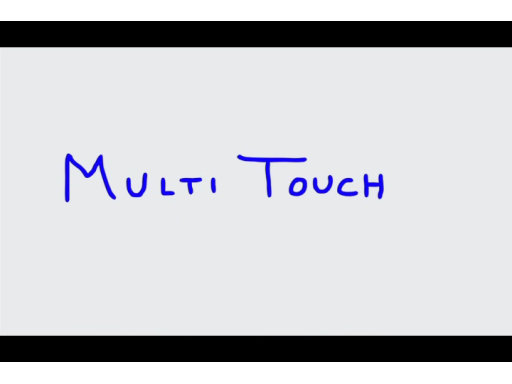Why Develop on Windows 7? - Touch and Multi Touch