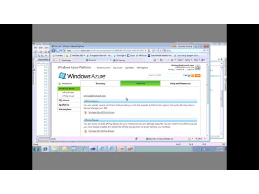 Cloud Computing & Windows Azure Platform (Part 3 of 3): Solutions