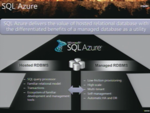 Windows Azure FireStarter: SQL Azure with David Robinson