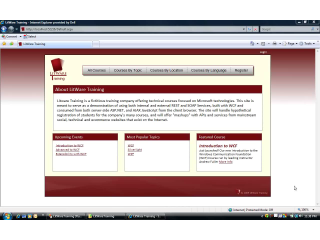 endpoint.tv Screencast - Overview of Litware Training