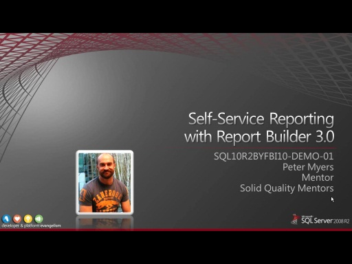 Demo: Self-Service Reporting with Report Builder 3.0