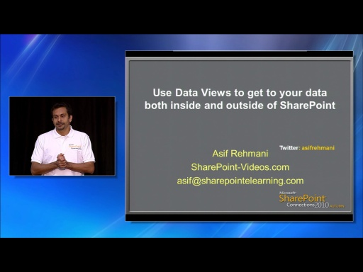 Use Data Views to Get to Your Data - Both Inside and Outside of SharePoint