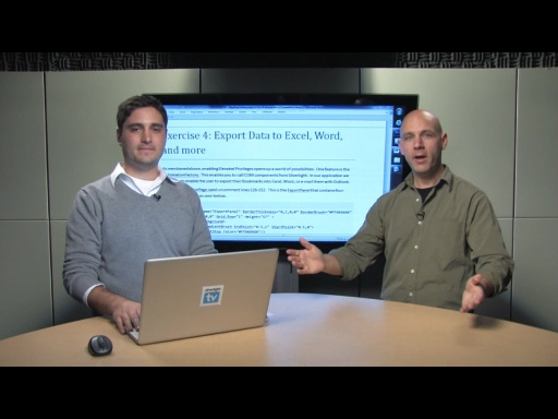Lab 5 - Exercise 4 - Export Data to Excel, Word, and more