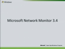 Microsoft Network Monitor 3.4 Overview 2010