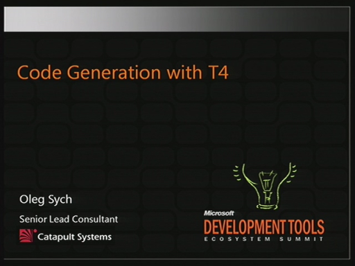 VSX206: Code Generation with T4