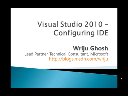 Visual Studio 2010 IDE Settings Tips and Tricks