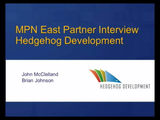 Interview with Hedgehog Development - Azure, the Microsoft Partner Network, and BizSpark