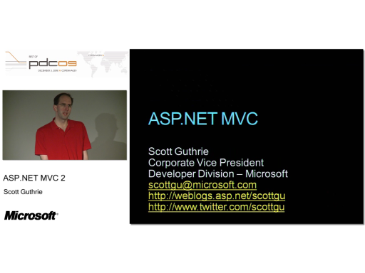DKPDC09 Session 4 - ASP.NET MVC 2