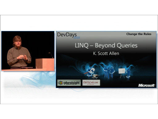 LINQ - Beyond Queries by Scott Allen