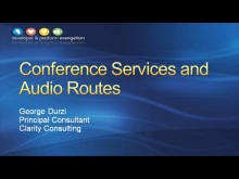 Session 8 - Part 2 - UCMA 3.0 Advanced Communications with Conference Services and Audio Routes