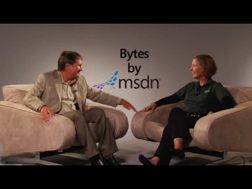 Bytes by MSDN: Ginny Caughey and Tim Huckaby discuss Consumer Apps for Windows Phone 7